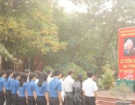 Trường Quốc Học Huế tưởng nhớ Đại tướng Võ Nguyên Giáp