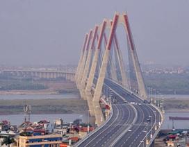 Cầu Nhật Tân sẵn sàng trước ngày thông xe