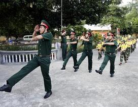 """Ngắm """"chiến sĩ nhí"""" rèn luyện trong """"Học kỳ quân đội"""""""