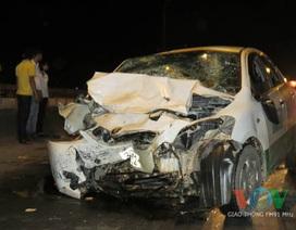 Hà Nội: Ô tô đâm liên hoàn, 9 người gặp nạn