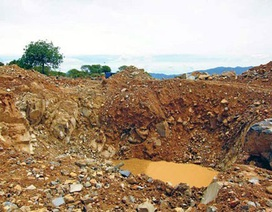 Thâm nhập hiện trường tìm kiếm 4.000 tấn vàng ở núi Tàu