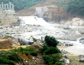 Quảng Trị: Vỡ đập chắn thủy điện Đakrông III