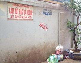 Phạt đổ rác bừa bãi đến 2 tỉ đồng: Ai gác? Ai phạt? Ai trả tiền?