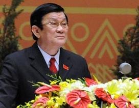Chủ tịch nước Trương Tấn Sang sắp thăm chính thức Trung Quốc