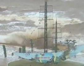 Hình ảnh thiệt hại sau bão số 2 tại nhiều tỉnh, thành