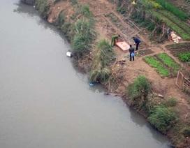 Phát hiện thi thể nam giới trôi trên sông Hồng