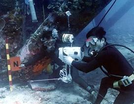 Lính đặc công thăm thám đáy đại dương