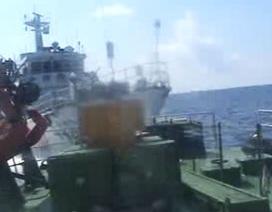 Video: Thêm bằng chứng về sự hung hăng của tàu Trung Quốc
