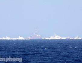 Clip mới nhất: Tàu và máy bay quân sự Trung Quốc uy hiếp tàu Việt Nam