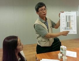 """Thông tin chính thức vụ """"rơi thang máy"""" ở tòa nhà Lotte"""