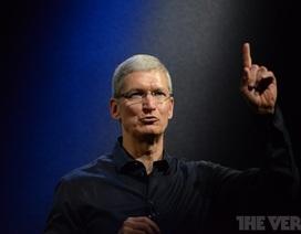 Apple lập kỷ lục mới về doanh thu bán hàng trong Quý 4