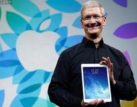 iPad Air mỏng hơn, nhẹ hơn, nhanh hơn chưa đủ?