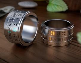 """Nhẫn đồng hồ Ring Clock - thiết bị công nghệ """"cực cool"""""""