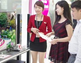 TV kỹ thuật số hâm nóng mùa mua sắm thấp điểm