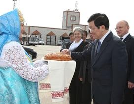 Chủ tịch nước thăm Khu tự trị Nenetskiy của Nga