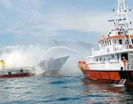 Diễn tập cứu nạn hàng hải quy mô lớn ở Nha Trang