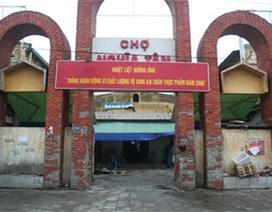 Tiểu thương phản đối, dự án chợ Nghĩa Tân tạm dừng