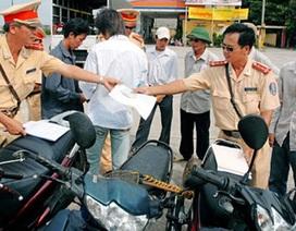 Bỏ quy định chi tiền phạt bồi dưỡng cảnh sát giao thông