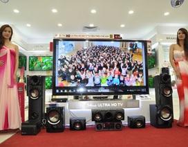 """Chiếc tivi """"khủng"""" nhất thế giới giá 300 triệu đồng tại Việt Nam"""