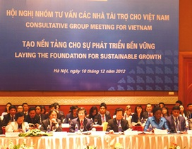 Thủ tướng cùng các nhà tài trợ bàn chuyện điều hành, chống tham nhũng