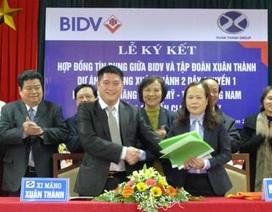 Tập đoàn Xuân Thành nhận gói tín dụng 2.000 tỷ từ BIDV