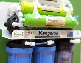 """Kangaroo """"cháy kho hàng"""" máy lọc nước RO thế hệ mới"""