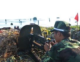 Lính đảo Việt Nam tập đánh địch đổ bộ