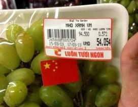 """""""Nho lạ"""" BigC dán cờ Trung Quốc: Nhầm lẫn, nhập nhằng hay dối trá?!"""