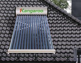 EVN trợ giá 30.000 máy nước nóng mặt trời Kangaroo