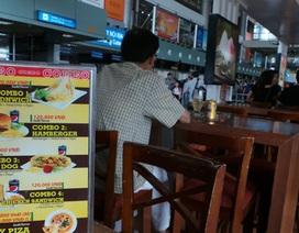 Bộ trưởng chê dịch vụ tại sân bay Nội Bài