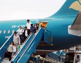 Vietnam Airlines điều chỉnh giờ bay vì siêu bão Hải Yến