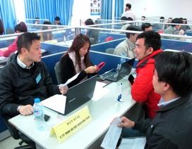 Tỷ lệ tìm được việc qua Sàn Giao dịch việc làm Hà Nội đạt 24,99 %