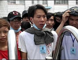 Không có lương tháng 13, gần 700 CN Công ty Sunny Wide VN ngừng việc