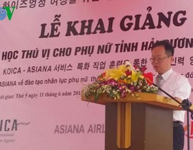 Hàn Quốc hỗ trợ đào tạo nguồn lao động nữ cho tỉnh Hải Dương