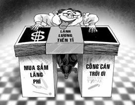 Trả lương kiểu Việt Nam: Tiền đưa tận tay, ai chối?