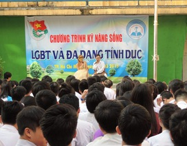 TPHCM: Chuyên đề về đồng tính vào trường học