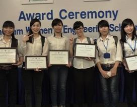 Trao học bổng cho nữ sinh viên ngành Kỹ thuật