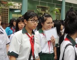 TPHCM bắt đầu nhận hồ sơ tuyển sinh vào lớp 10