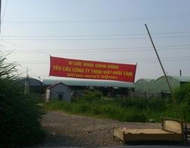 """Đội lốt dệt may, công ty tái chế nhựa """"chui"""" gây ô nhiễm"""