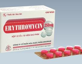 Thu hồi lô thuốc nội không đạt tiêu chuẩn hoà tan