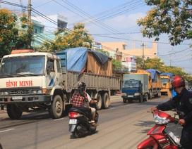 """Cấm xe tải lưu thông trên cung đường """"chết"""" giờ cao điểm"""