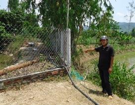 Bình Định: Dân tố chủ tịch xã chiếm đất công xây nhà trái phép