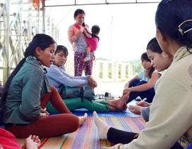 Vụ chủ nợ dựng lều trước nhà máy cồn: Doanh nghiệp hứa trả nợ trước Tết
