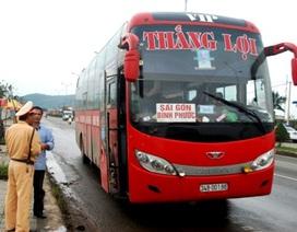 Quảng Bình, Đà Nẵng xử lý hàng trăm xe khách quá tải, quá tốc độ