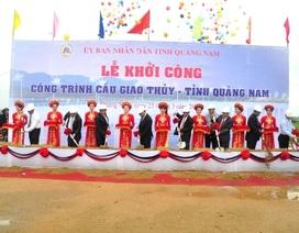 Phó Thủ tướng khởi công dự án kỷ niệm 40 năm giải phóng Quảng Nam