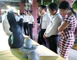"""Khai mạc trại sáng tác điêu khắc """"Ấn tượng Quảng Nam"""""""