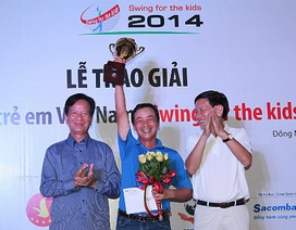 Bế mạc Giải golf Swing for the Kids 2014