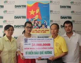 """Thầy trò Trường phổ thông Quốc tế Kinh Bắc chung tay """"Tiếp sức ngư dân bám biển"""""""