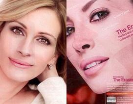Quảng cáo mỹ phẩm bị cấm vì người mẫu đẹp... quá đà