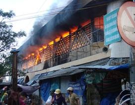 Miễn giảm lãi vay với tiểu thương cháy chợ Quảng Ngãi
